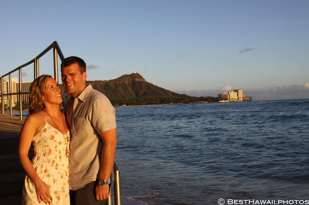 Hawaii Engagement photos by BestHawaii.photos Waikiki Honolulu 2015_08292015_6177
