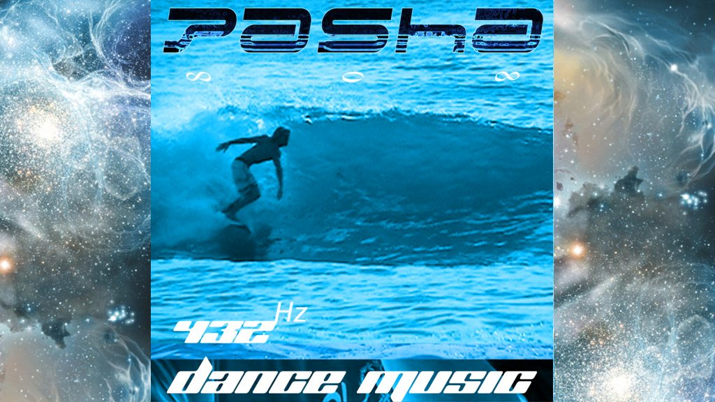 "Pasha's latest music album ""432 Hz Dance Music"""